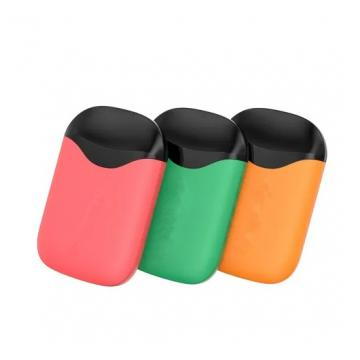 Disposable vape pen CRC smell proof container pop top tube ccell cartridge plastic tube atomizer